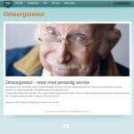 Ny hemsida företag Omsorgsresor.se